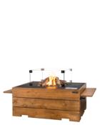 Cocoon Table Teakhout Rechthoek Met Glazenombouw