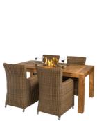 Cocoon Table Inbouwbrander Rechthoek Aan Tafel