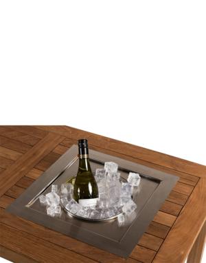 Inbouw Wijnkoeler Vierkant