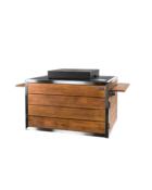 Cocoon Table Deksel Composiet Zwart Sfeer1