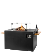 Cocoon Table Lounge & Dining Rechthoek Zwart Met Accessoires