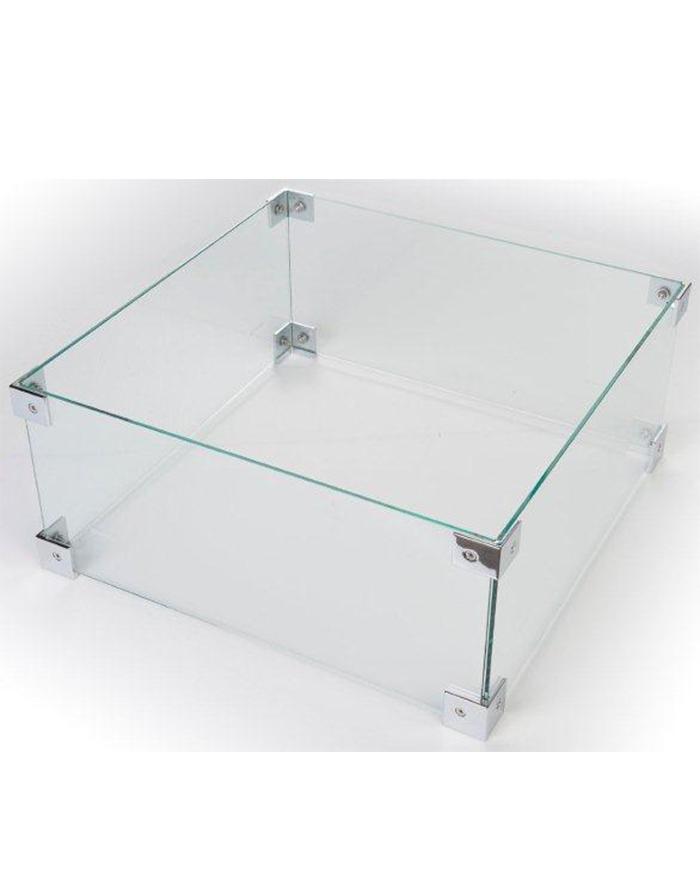 Glazen Ombouw Cocoon Table Vierkant Klein