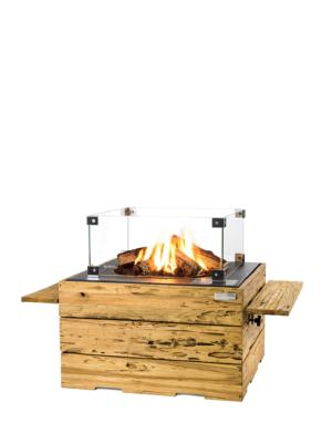 Cocoon Table Driftwood Vierkant Met Enclosure