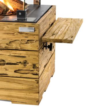Houten Side Table Driftwood