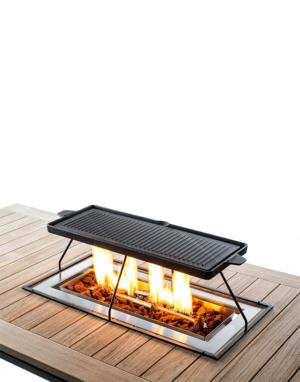 Grillplaat Inbouwbrander Rechthoek