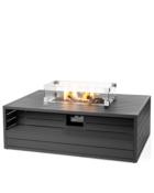 Cocoon Table Rechthoek Aluminium Antraciet