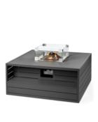 ocoon Table Vierkant Aluminium Antraciet (1)
