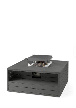 Cocoon Table Aluminium Vierkant antraciet